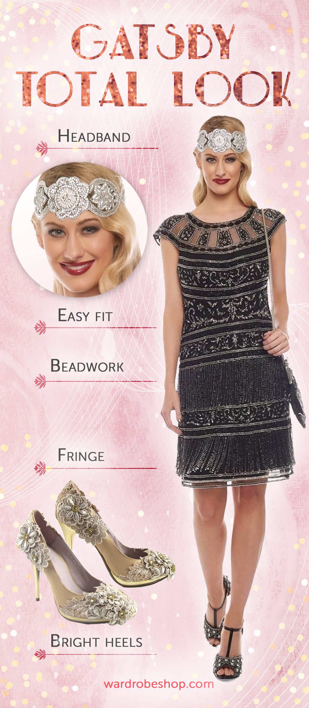 Great Gatsby Inspired Look | 1920s Themed Party & Vintage Style ...