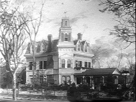 the addams family mansion | adams family research board | pinterest