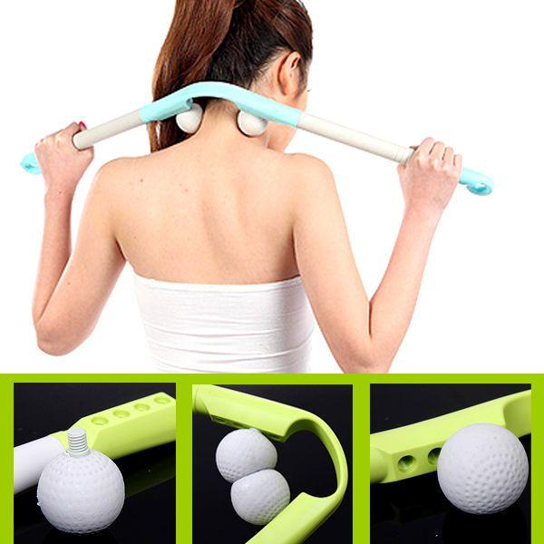 3 Section MassagerSoft Ball Pain Massage For Waist Shoulder Neck Leg Relax Tool #UnbrandedGeneric