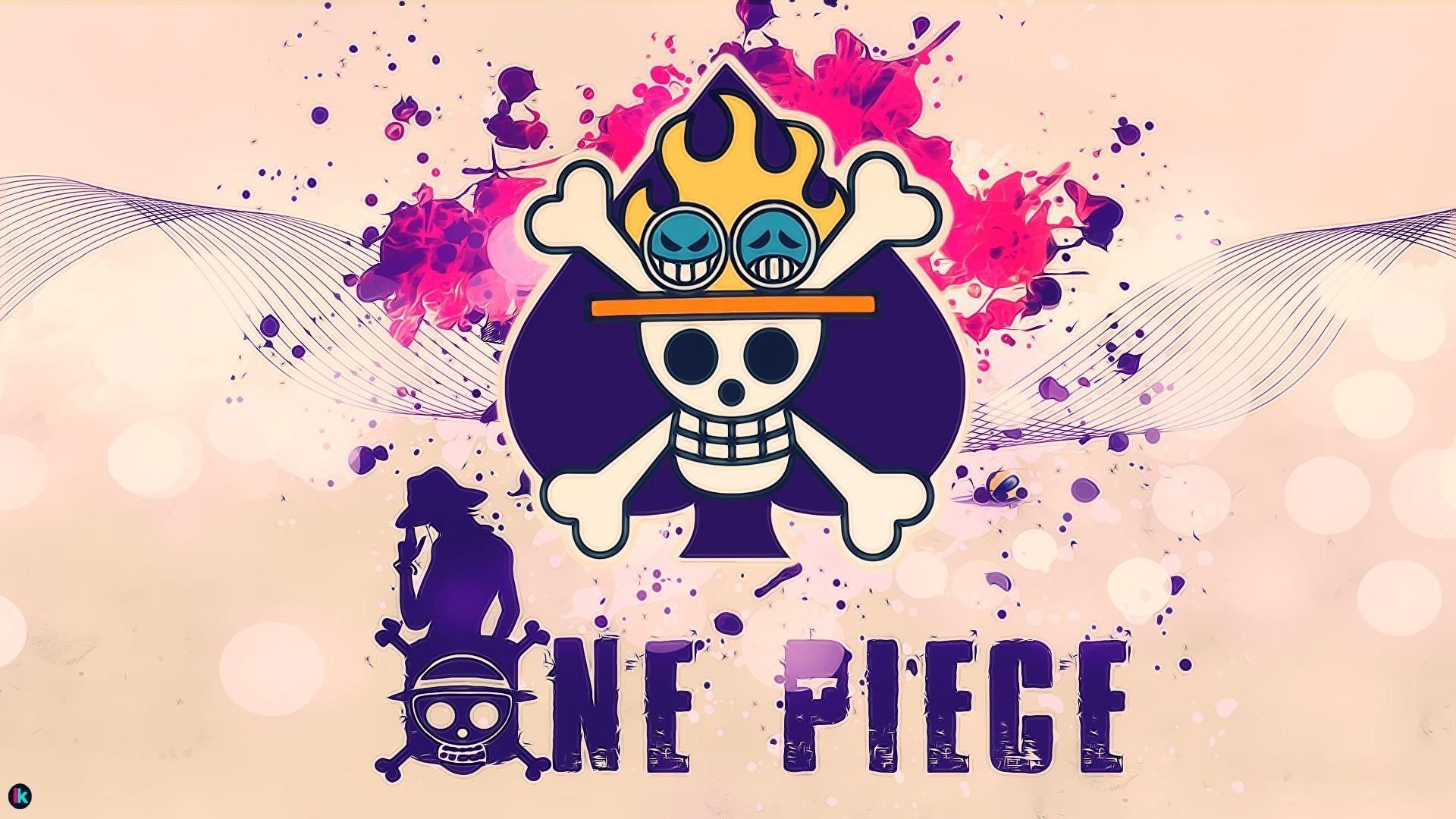 1920x1080 Portgas D Ace Wallpaper One Piece Logo Hd Wallpaper Anime