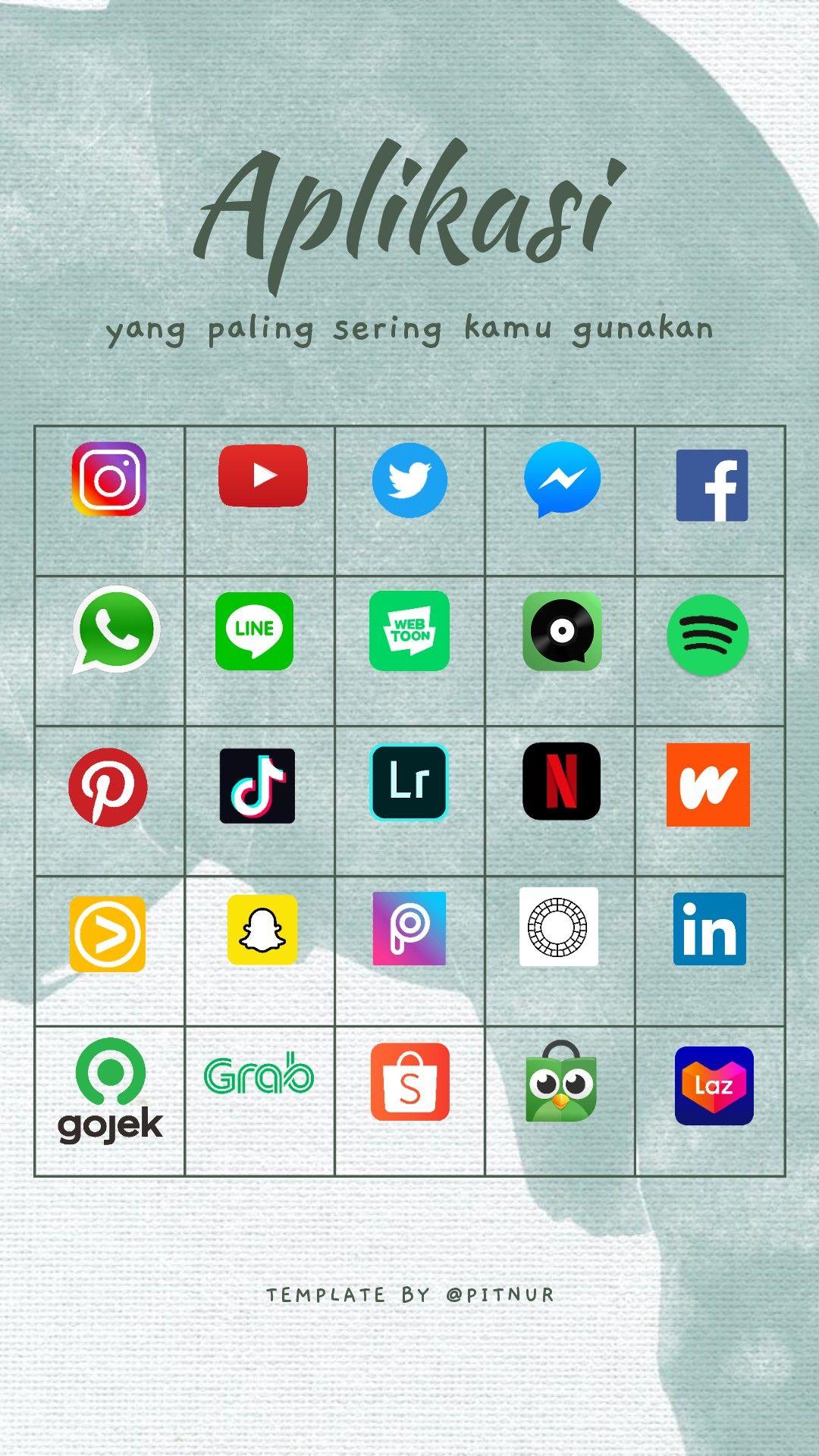 Pin Di Template Instagram