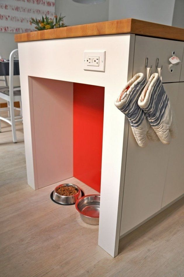19 Brilliant Diy Projects For Pet Food Stations Dog Food Station Pet Food Station Cat Food Station