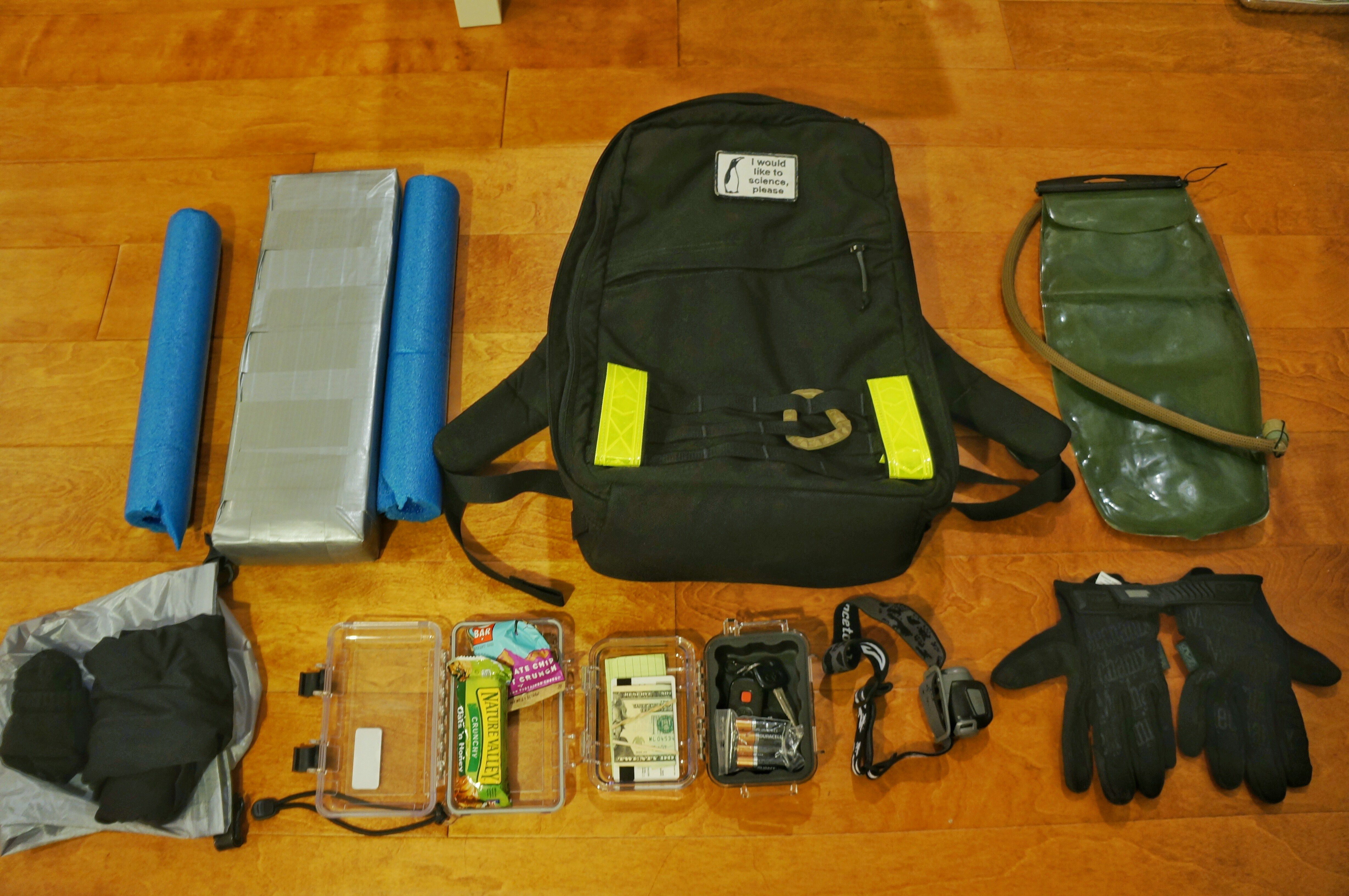 Goruck Light packing list and Principles of Organization