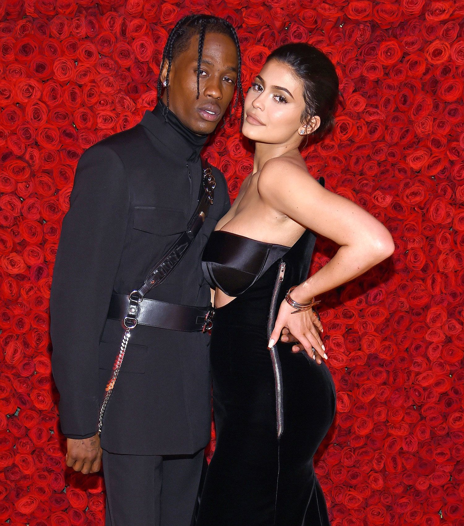 Kylie Jenner Kisses Travis Scott At Astroworld Listening