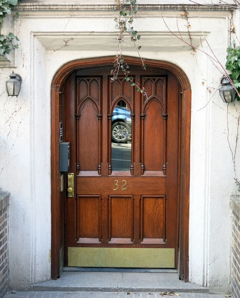 Unusual Ogee Arched Door Frame, West 9th Street, Greenwich  | Flickr  91895469 Lesser Seen Options For Custom Wood Interior Doors