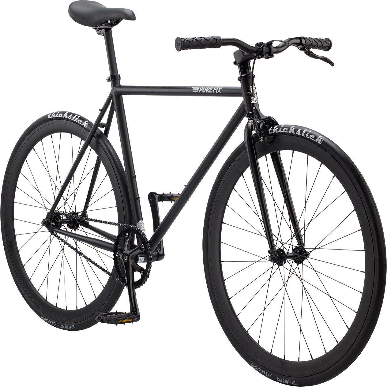 Pure Fix Original Fixed Gear Single Speed Bicycle, Juliet Matte ...