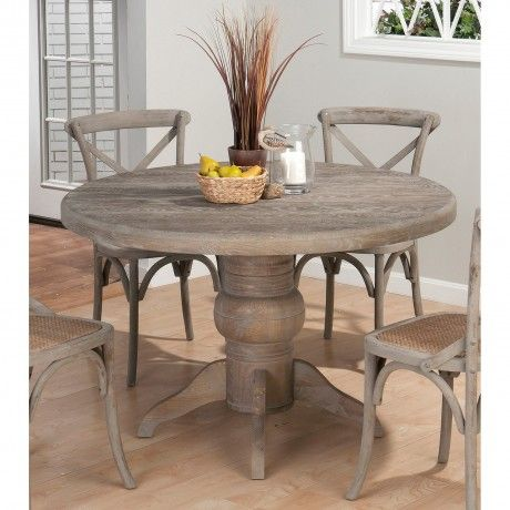 Classic Driftwood Round Pedestal Extendable Dining Table With Legs In Carved Also Cla Round Pedestal Dining Table Grey Round Dining Table Round Pedestal Dining
