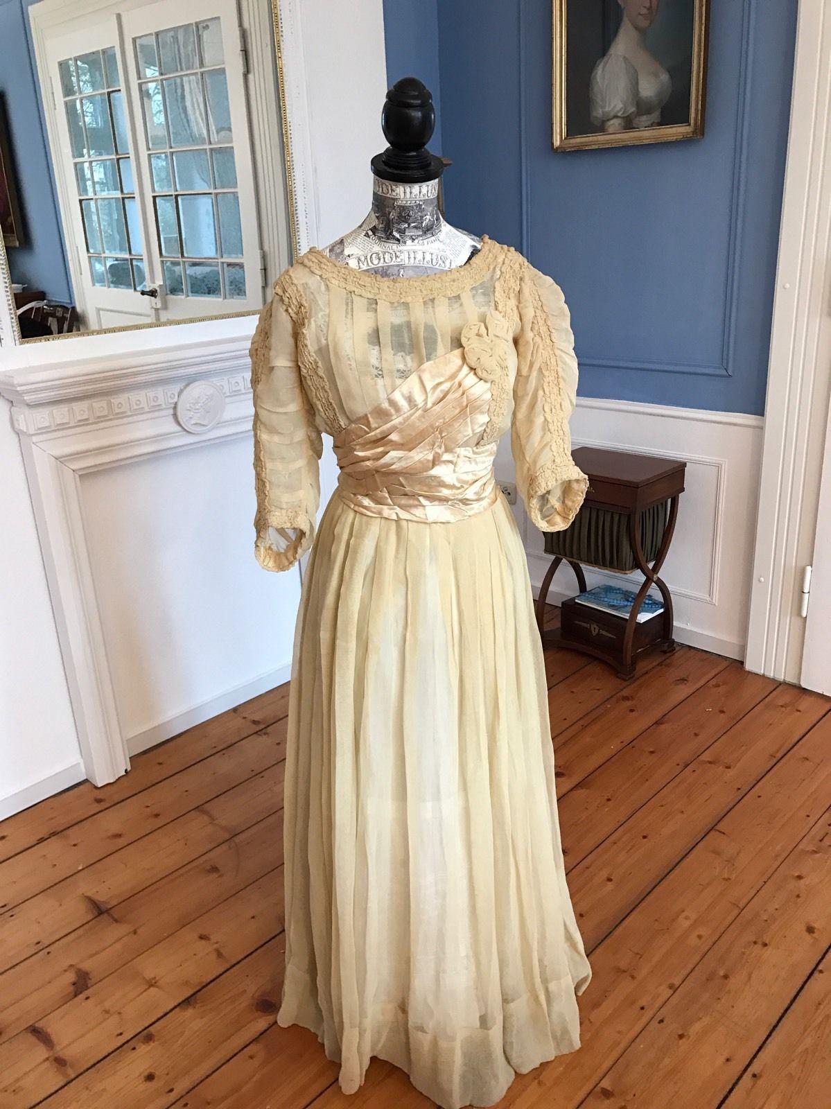 Antikes 2019 1910Ebay Um In Jugendstil Kleid Kleider RjL3Aq54