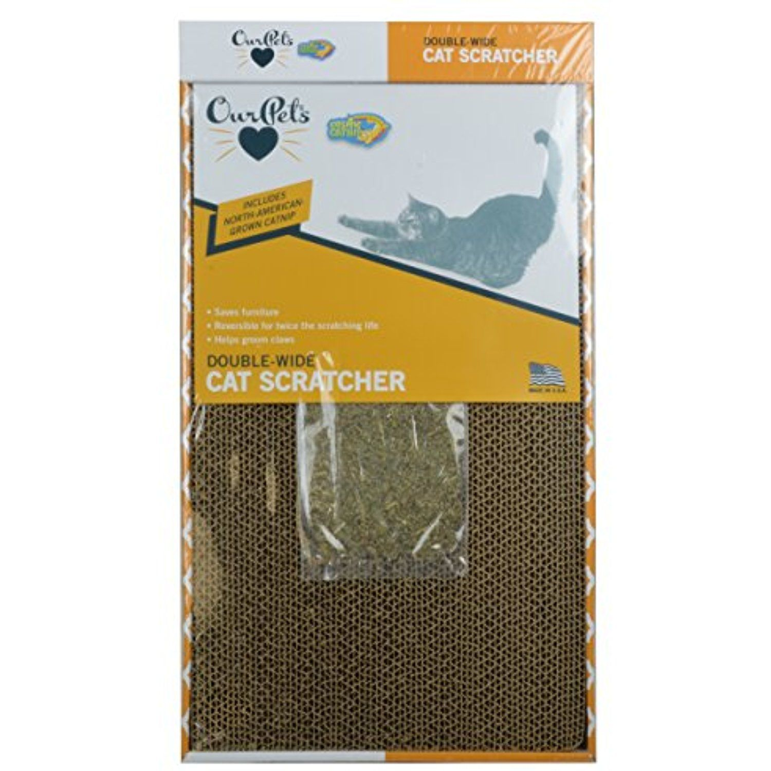 OurPets Far and Wide Cat Scratcher with NorthAmerican
