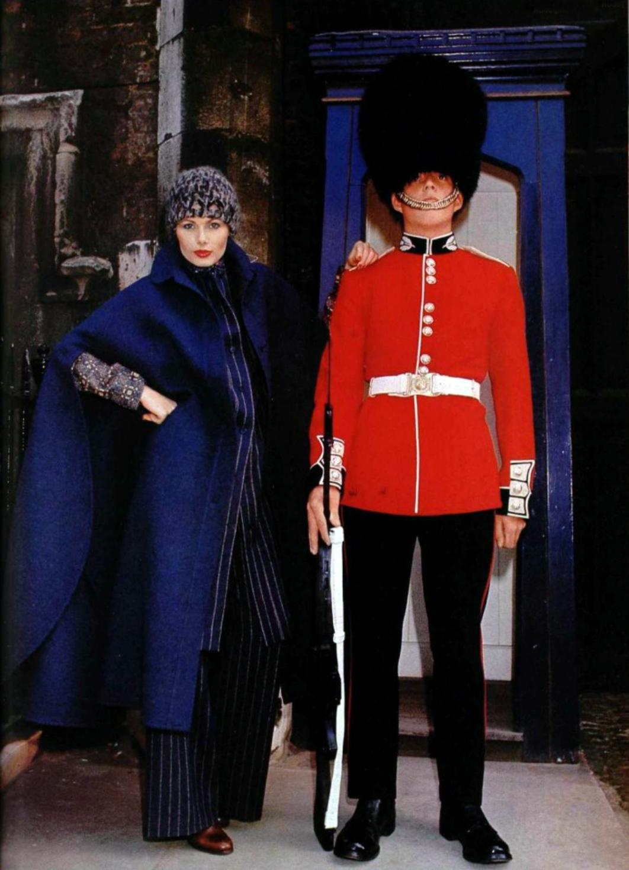 Lanvin Boutique. L'Officiel magazine 1976