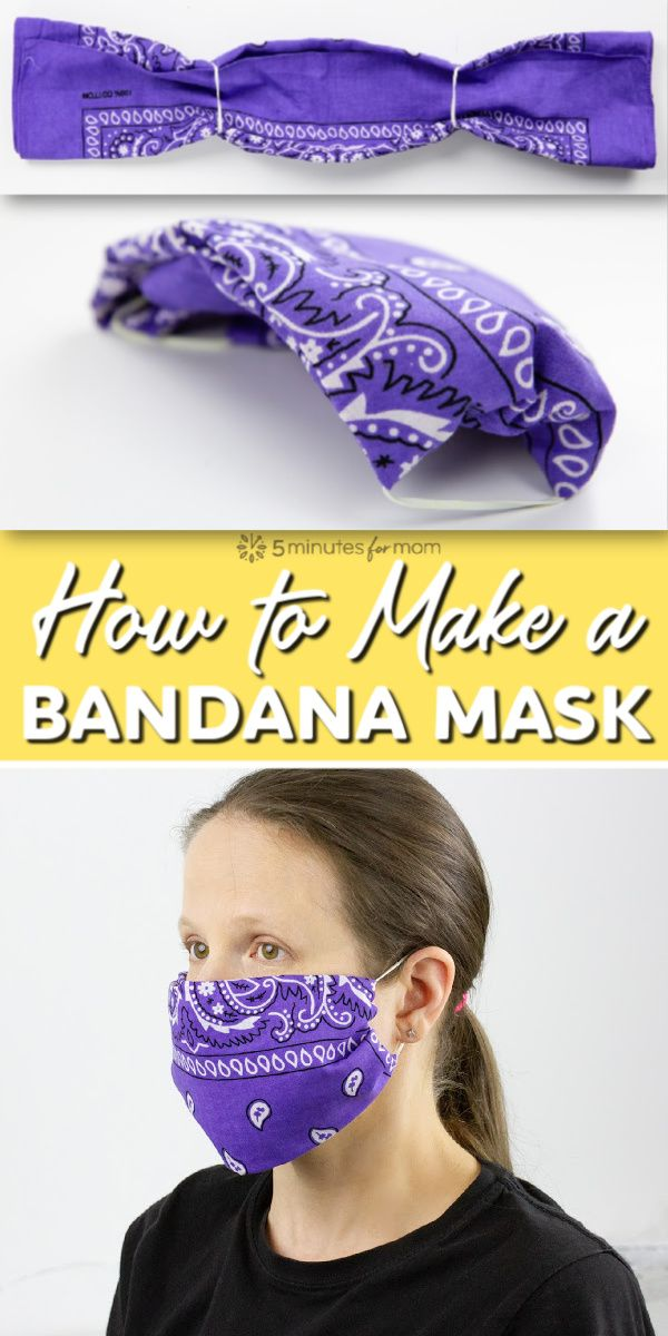 Photo of Easiest DIY Face Mask – Fold a Mask from Any Piece of Fabric