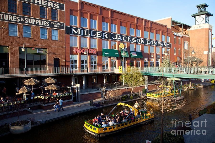 Bricktown Canal Oklahoma City Photograph Oklahoma City Things To Do Bricktown Oklahoma City Oklahoma City