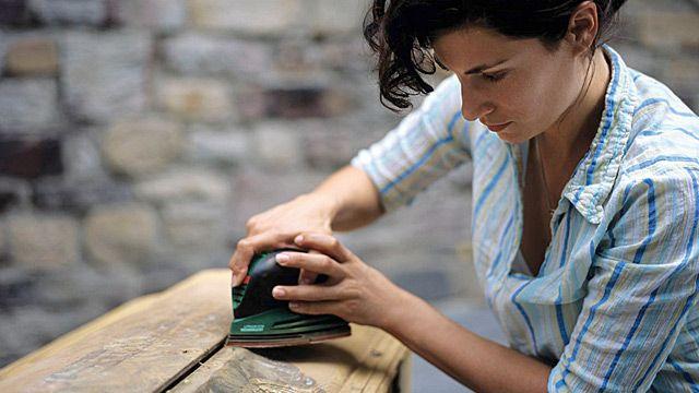 Vintage-Stil lässt sich auch gut selbst umsetzen (Quelle: dpa/Bosch/DIY Academy)