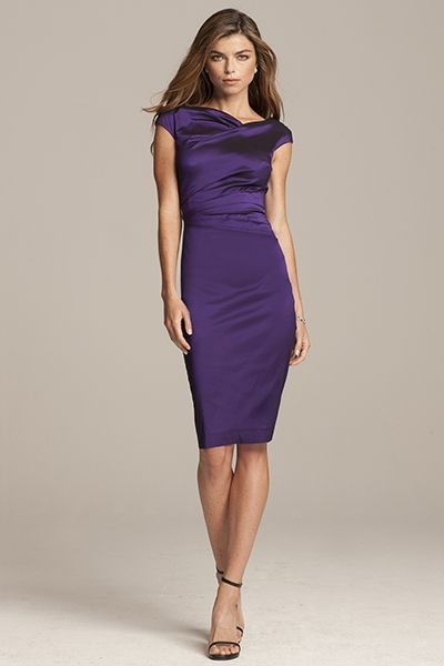 Easy To Wear Great For Summer Gorgeous Purple Dress