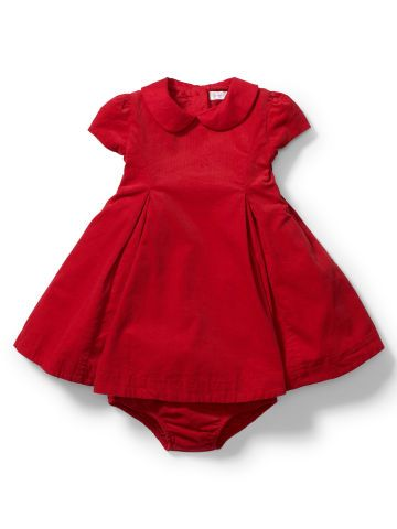 Corduroy Party Dress & Bloomer - Baby Girl Dresses & Skirts - RalphLauren.com