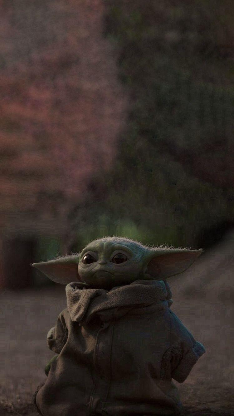 Baby Yoda Lockscreen Yoda Wallpaper Yoda Artwork Yoda Images