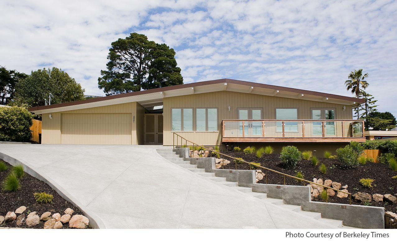 Mid century modern homes stucco contractor of the for House and home exteriors