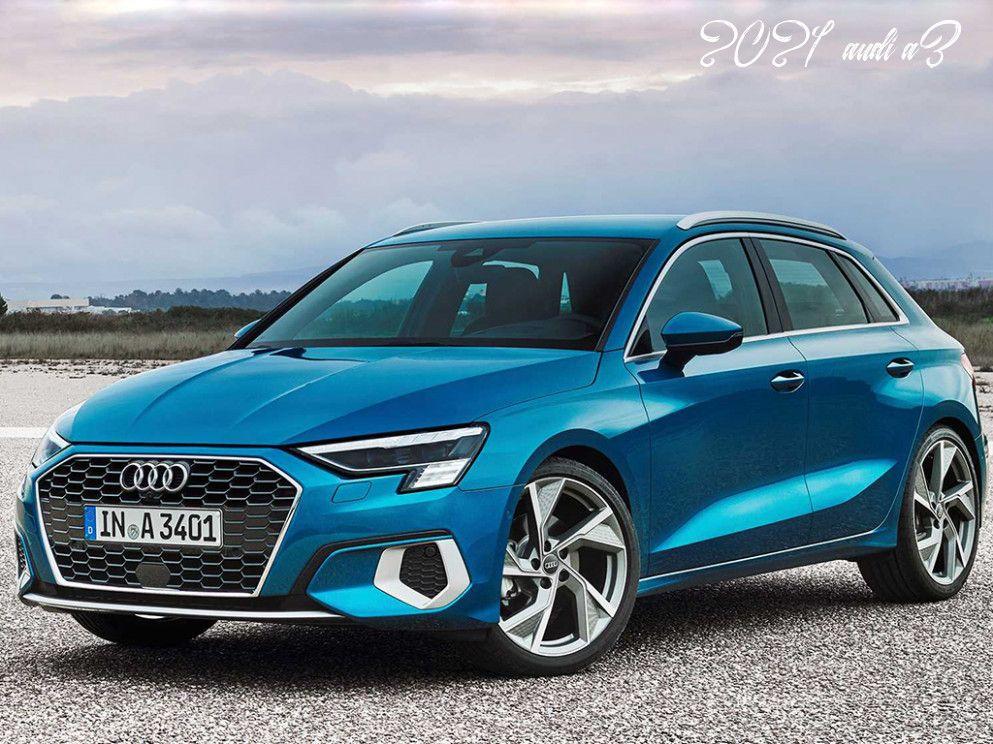 2021 Audi A3 Ratings in 2020 Audi a3 sportback, Audi