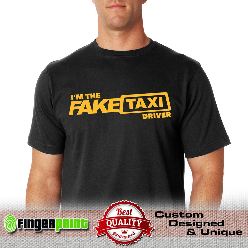 FAKE TAXI TSHIRT tshirt faketaxi cotton milf adult bachelor driver designer men #FingerPrint #GraphicTee