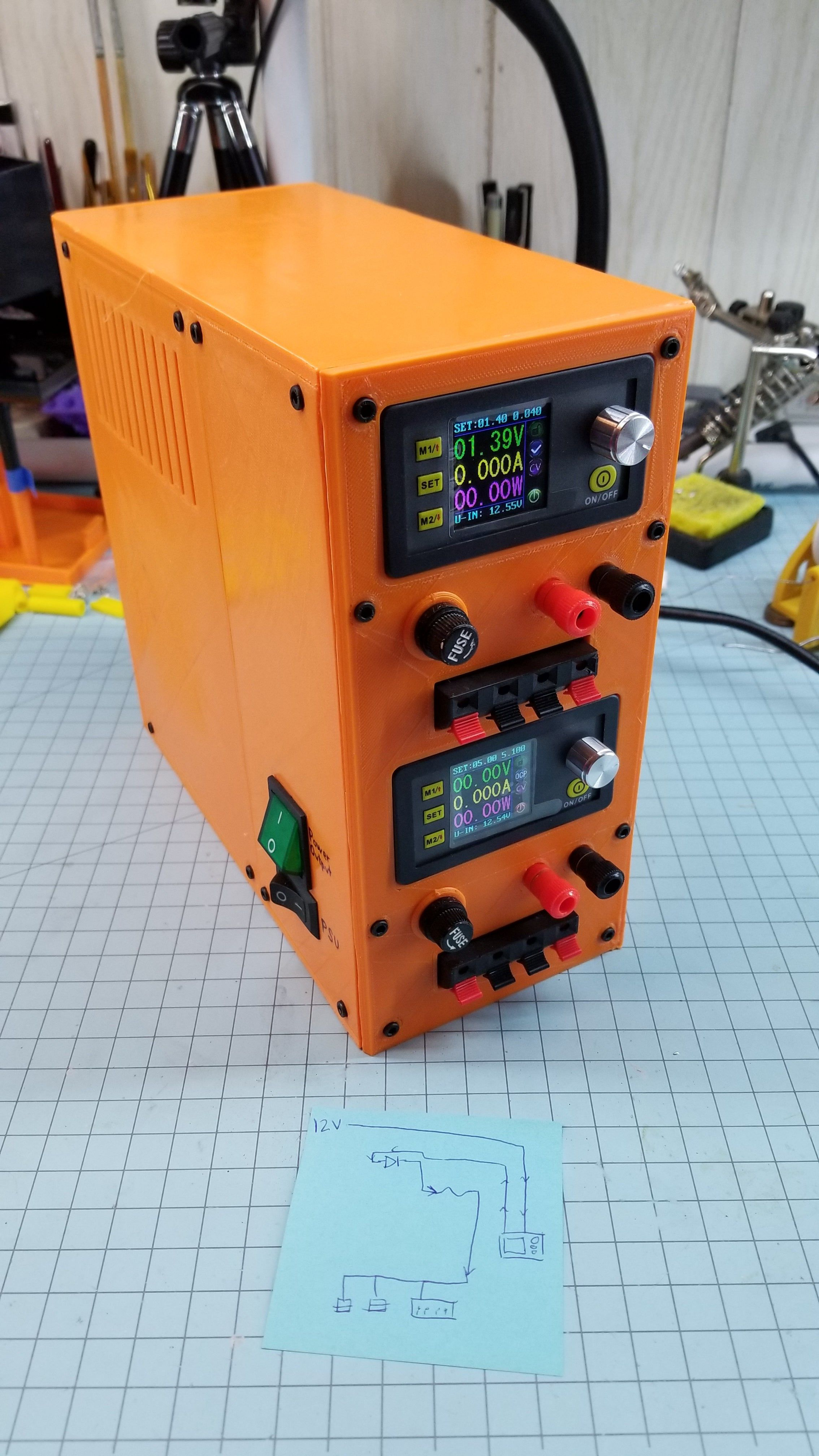 Another ATX Bench Power Supply by flash24 Thingiverse