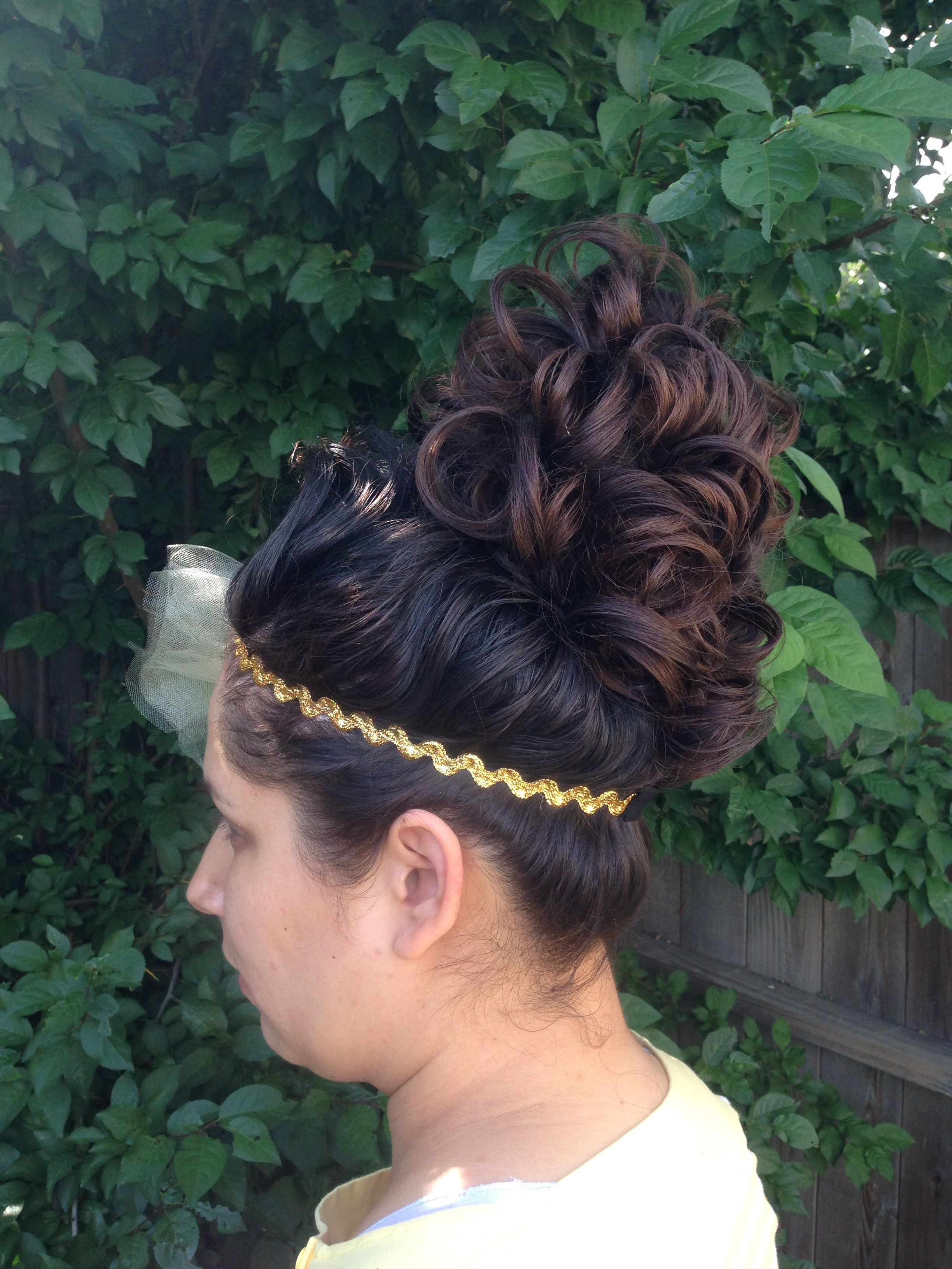 pentecostal hair #wedding #updo