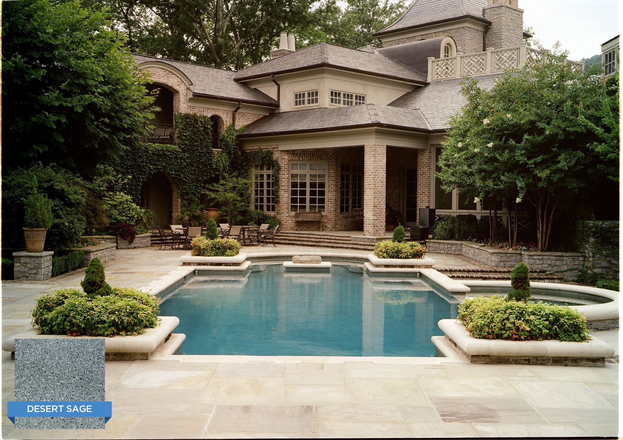 Hydrazzo Desert Sage Adds A Nice Earthy Toned Plaster To Your Swimming Pool Swimmingpool Pool