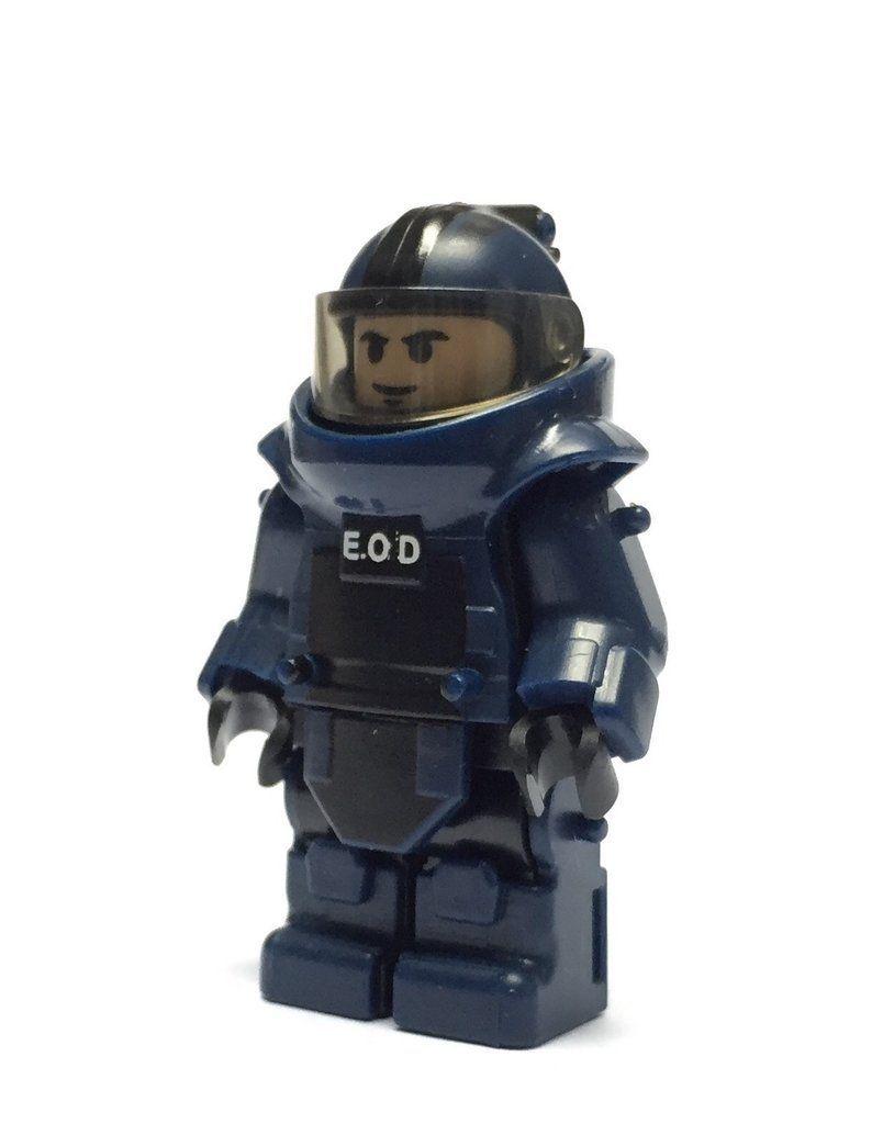 LEGO Blue Translucent Diver/'s Mask for building or minifigures