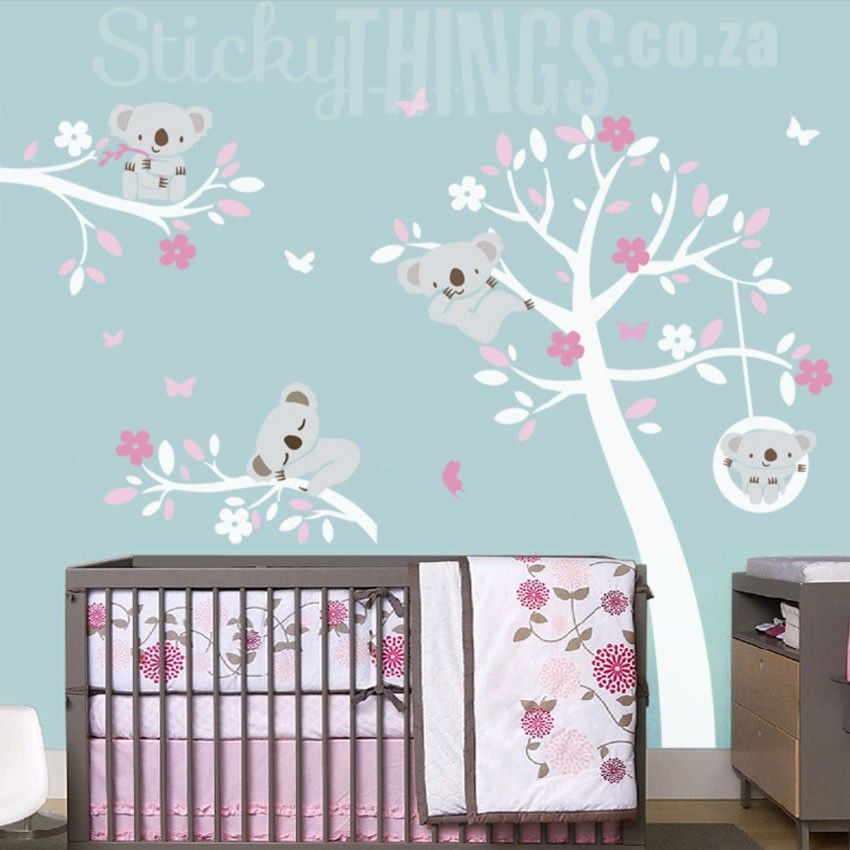 Wonderful Our Koala Trees Wall Art Sticker Has A Large Tree With Cute Koalas! This  Koala Wall Decal Also Includes Free Delivery In South Africa And Free  Butterflies. Good Ideas