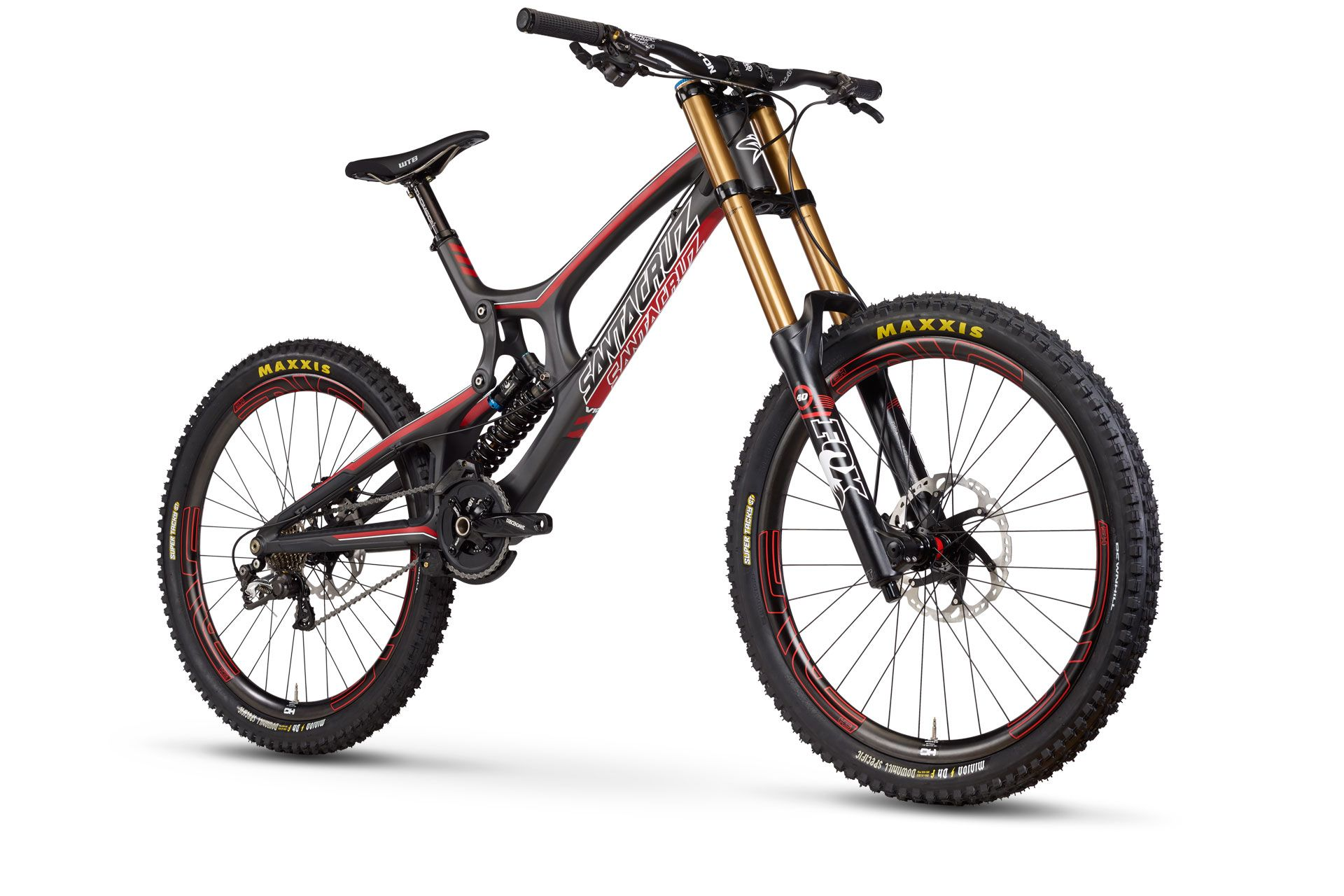 Santa Cruz Bicycles V10 5 Carbon Sepeda Gunung Sepeda Gambar
