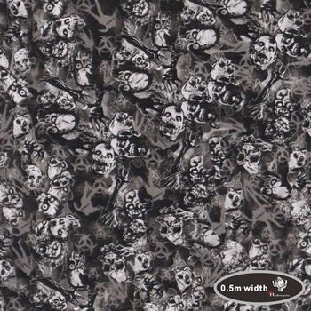 High quality skull pattern hydrographics printing film water