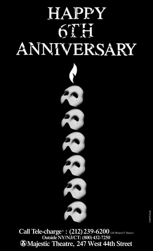 Broadway - 6th Anniversary Ad
