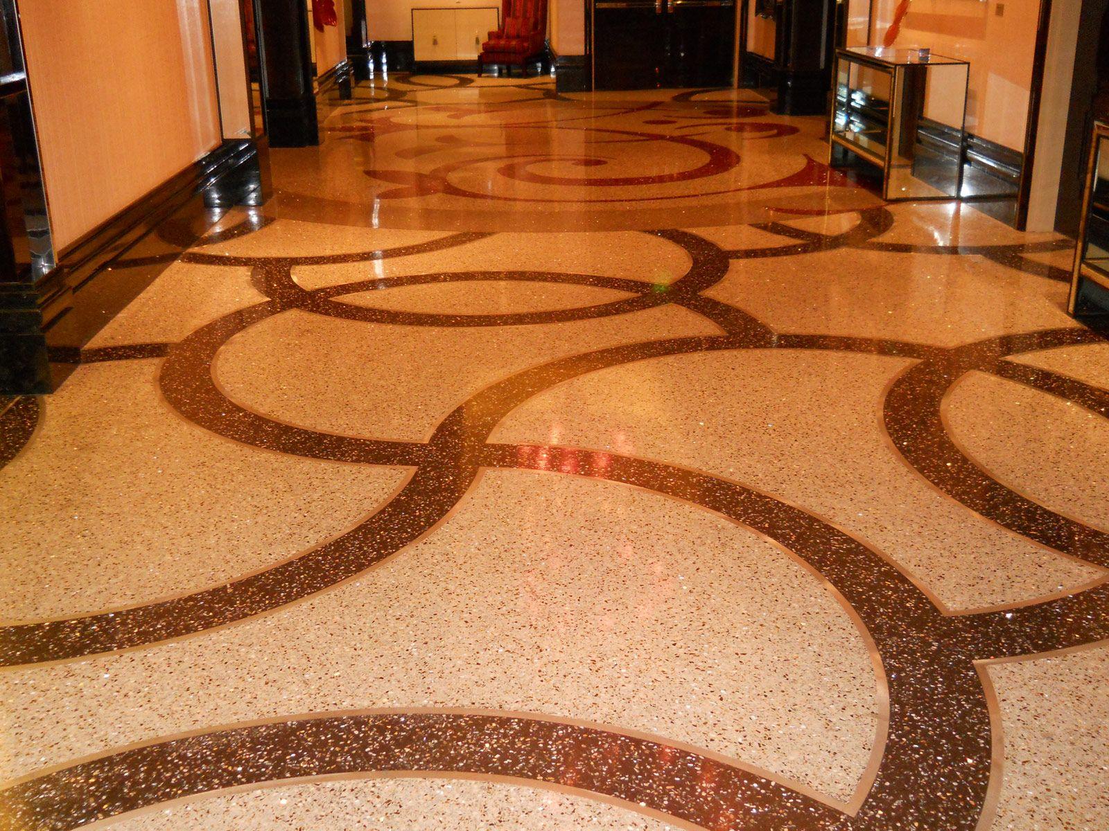 Floors With Decorative Elements Cosmopolitan Las Vegas