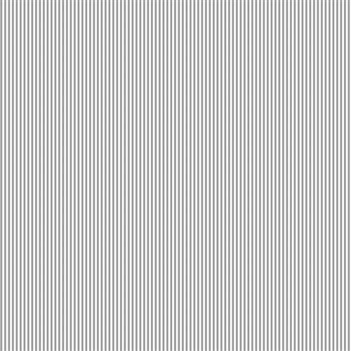 Cloud Gray Mini Stripe Fabric By The Yard