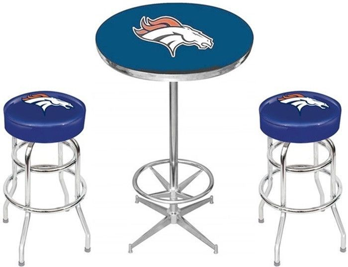 Denver broncos nfl pub table set pub sets pinterest pub table denver broncos nfl pub table set watchthetrailerfo