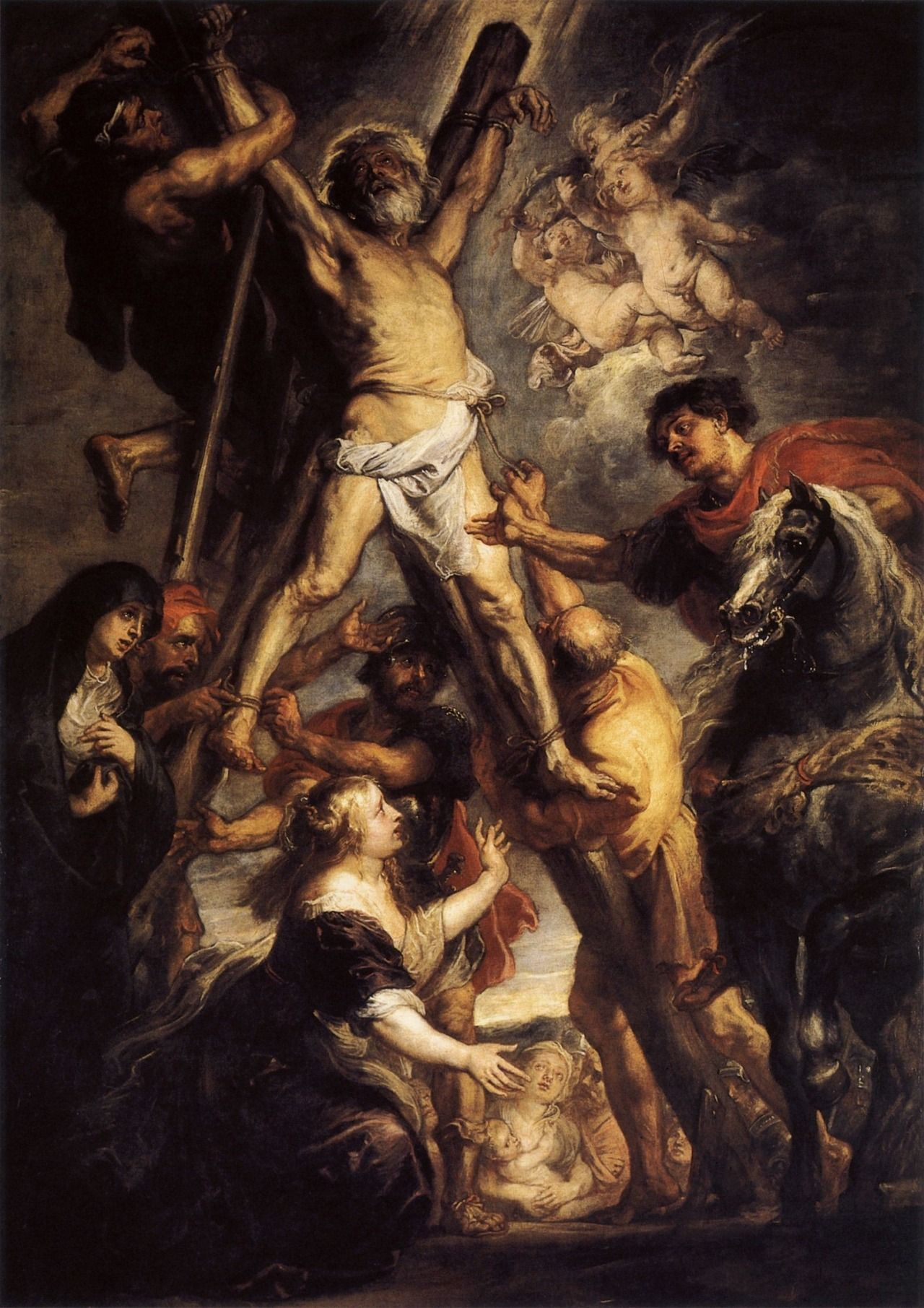Peter Paul Rubens - The Martyrdom of Saint Andrew (1638)
