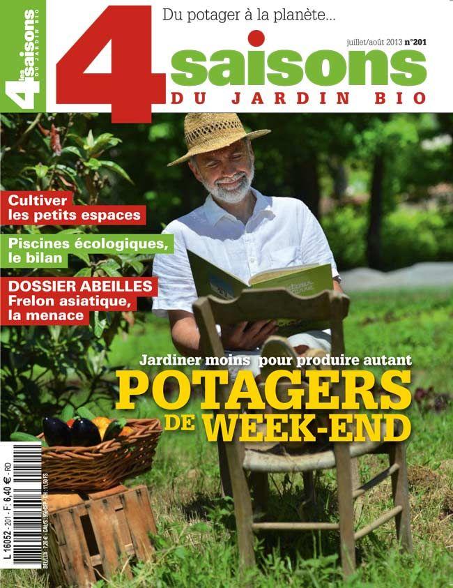 Les 4 Saisons du jardin bio n°201 Juilletaoût 2013