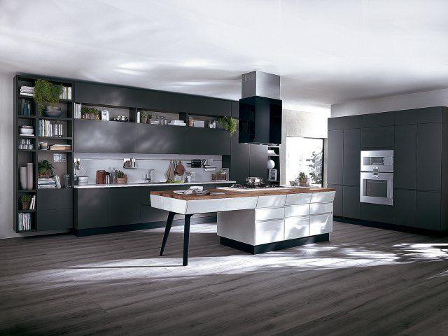 Cuisine motus scavolini grey kitchensmodern kitchensdesign italiencentral
