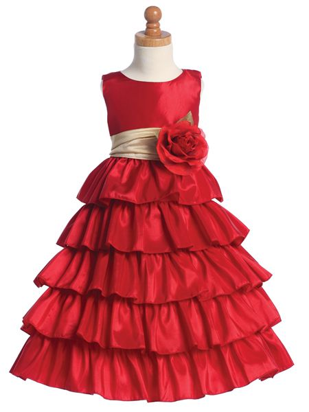 Red Party Dresses for Girls