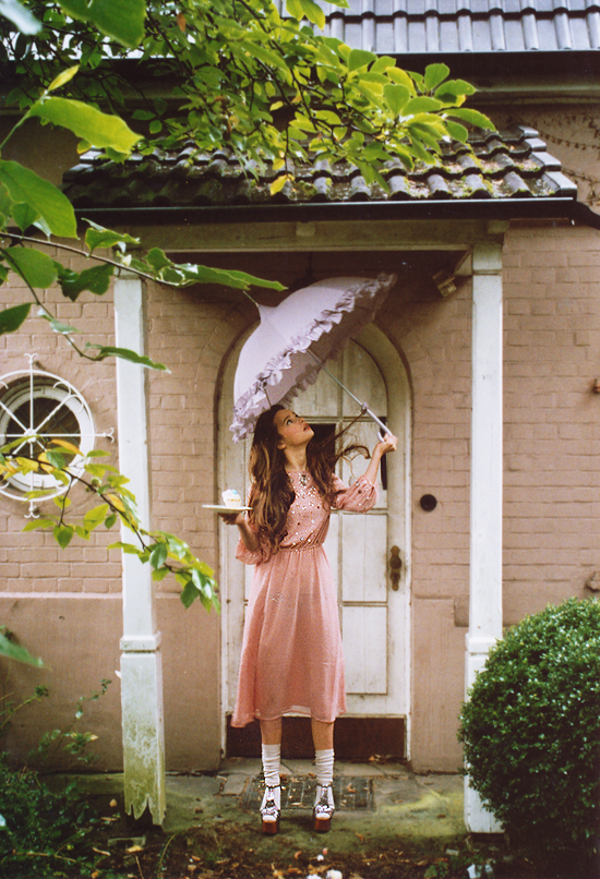 Rain is God watering the earth - photoshoot by Marie Zucker