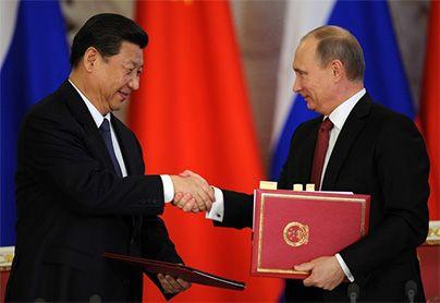 Rusia et China consolide su aliance energetik et economik
