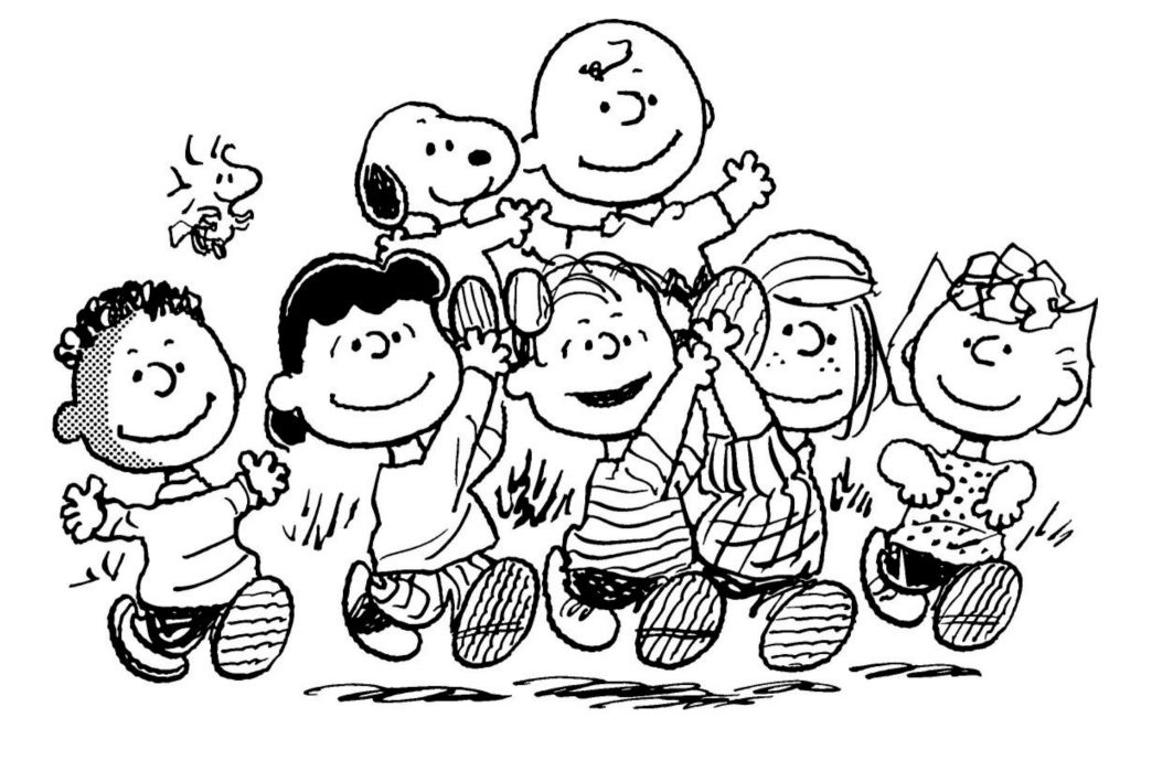 peanuts coloring pages - Google Search   Coloring Pages ...