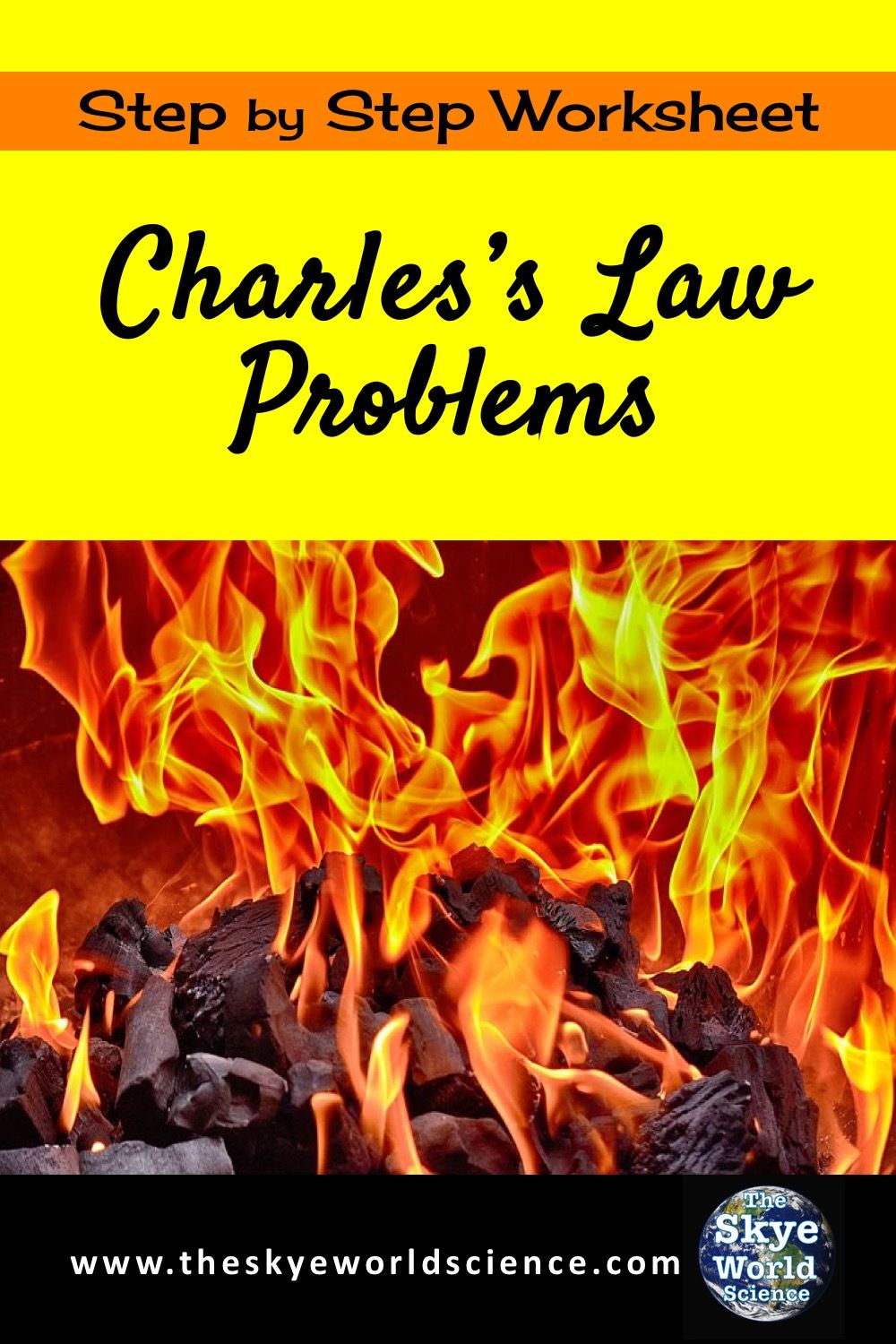Charles S Law Problems Relating Temperature And Volume In Gasses Charles Law Worksheet Template Worksheets