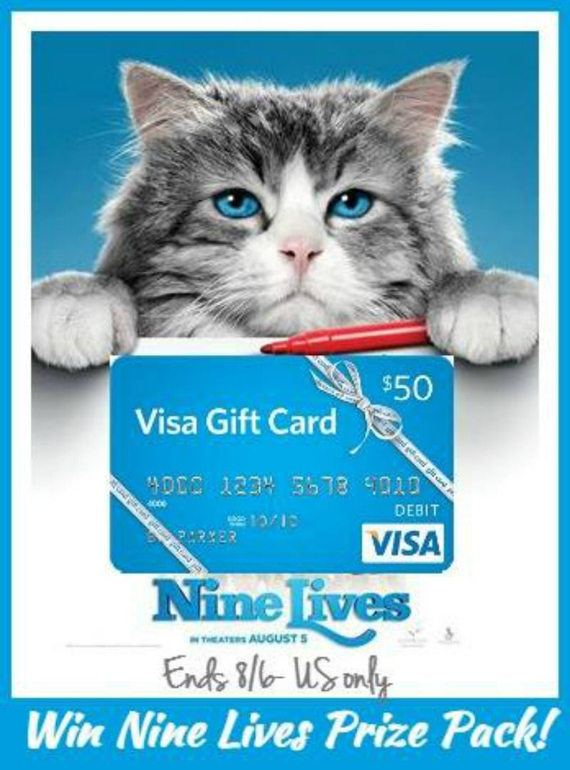 #Win a Nine Lives Prize Pack - includes a $50 Visa GC! - ends 8-6 US Only