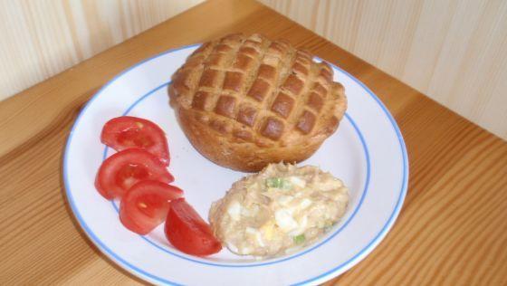 Tuniakovo-vajíčková pomazánka