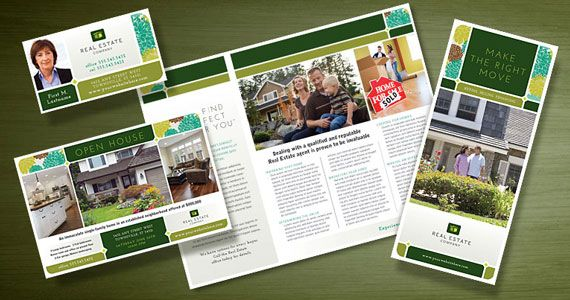 Real Estate Marketing with Curb Appeal #graphicdesign #brochure ...