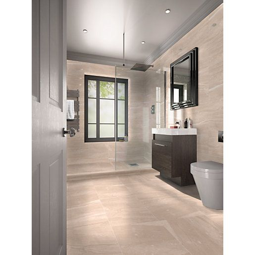 This Wickes Newton Matt Ceramic Floor Tile Offers The Look