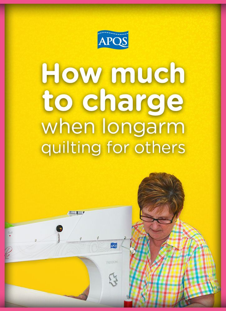 When setting your prices for quilting, it's important to look at ... : quilting prices - Adamdwight.com