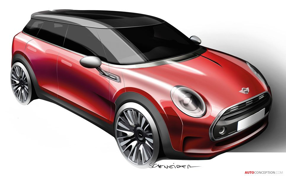 New MINI Concept Previews Next-Generation Clubman - AutoConception.com
