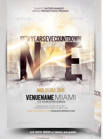 club flyers http www designfreebie com 50 super cool new year