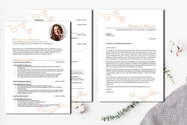 Englische Bewerbung Muster Vorlage Für Cv Und Cover Letter